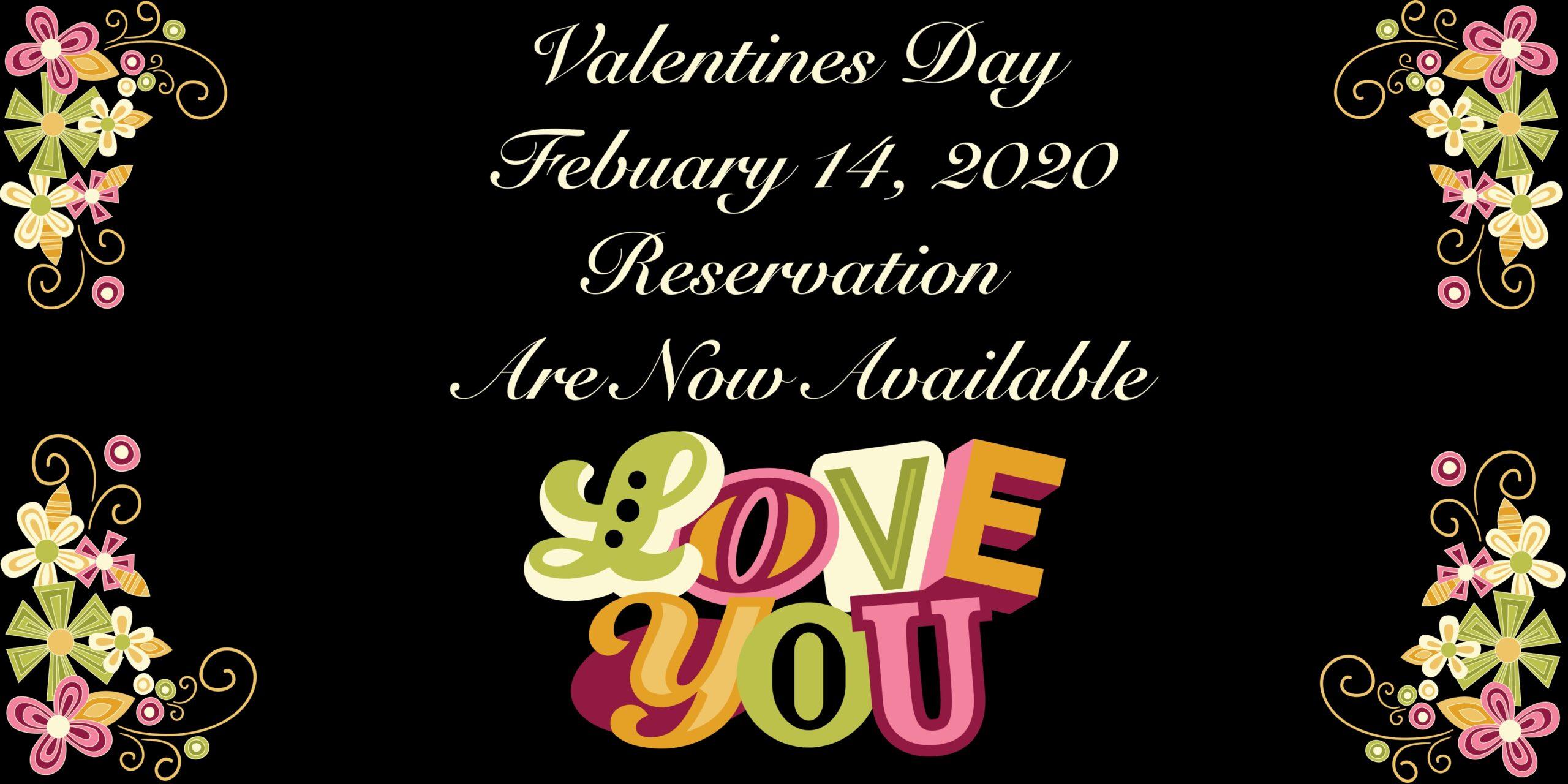 Valentines Day Dinner !!!!! 2020